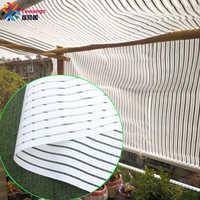 Tewango белый тент экран 55% УФ Блок теплосберегающий занавес полоса пленка растения покрытие открытый патио россыпь затенение отражение