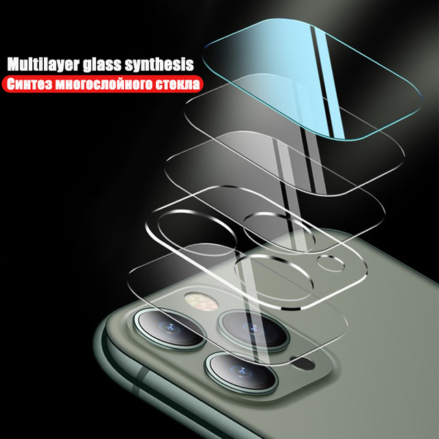Full Cover Hydrogel Film For iPhone 11 12 Pro Max mini XR XS X Screen Protector Back Film iPhone 7 8 Plus Camera Tempered Glass 3