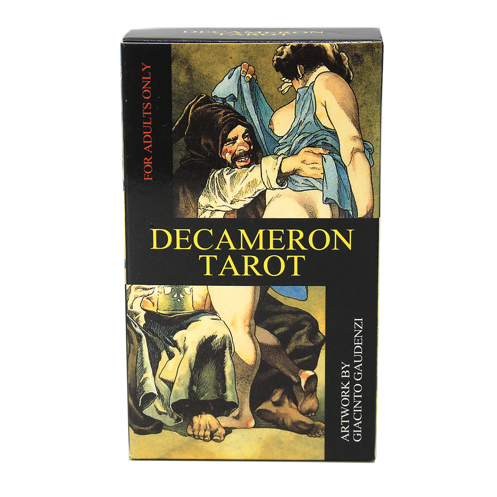 Decameron Tarot  all sorts of people enjoy the carnal adventure