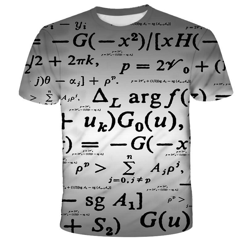 Childrens Unisex Mathematical T-Shirts