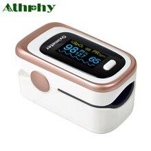 Athphy Finger Pulse Oximeter OLED De Dedo Blood Saturometro Monitor SPO2 PR CE Fingertip Digital Oximetro Portable Pulsioximetro