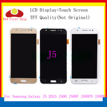 10Pcs/lot For Samsung GALAXY J5 J500 J500F J500FN J500M J500H 2015 LCD Display With Touch Screen Digitizer Assembly Brightness все цены