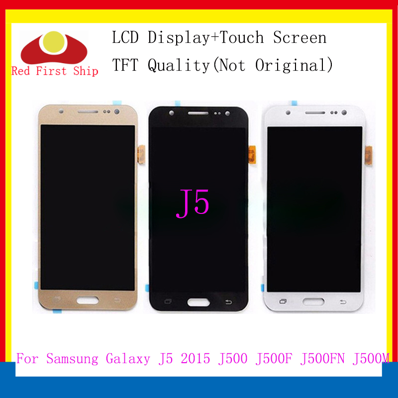 10Pcs/lot For <font><b>Samsung</b></font> <font><b>GALAXY</b></font> <font><b>J5</b></font> <font><b>J500</b></font> J500F J500FN J500M J500H <font><b>2015</b></font> LCD Display With Touch Screen Digitizer Assembly Brightness image
