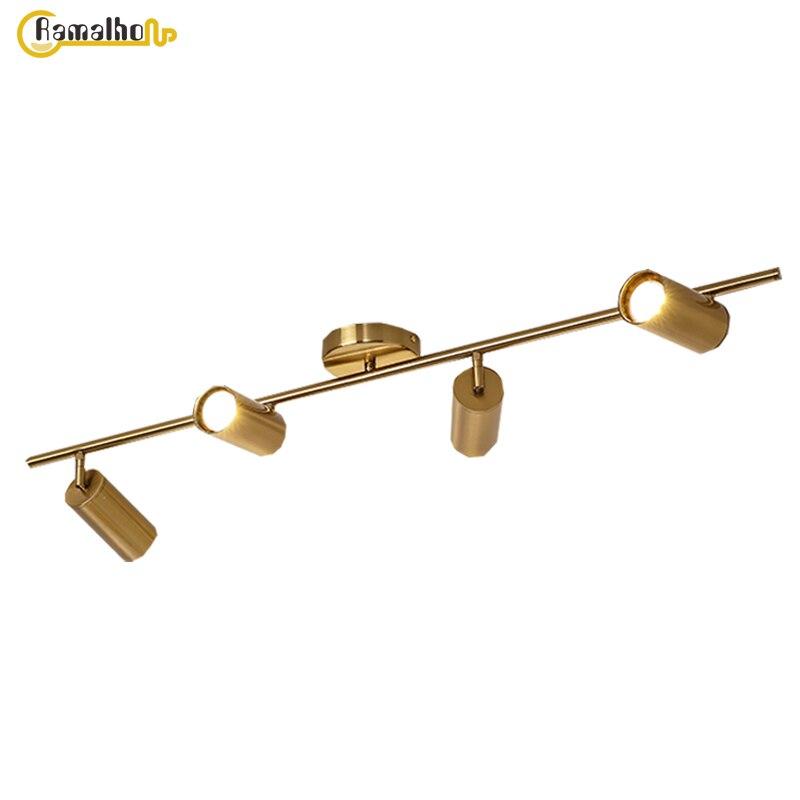 Потолочные точечные светильники Светодиодный точечный светильник Gu10 поверхностный монтаж потолочный светильник 85-265 в потолочный