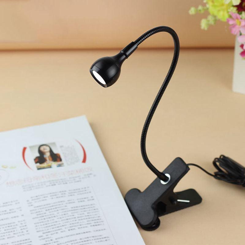 LED USB 5V white light reading protect eye bedside lamp  night light|Desk Lamps| |  - title=