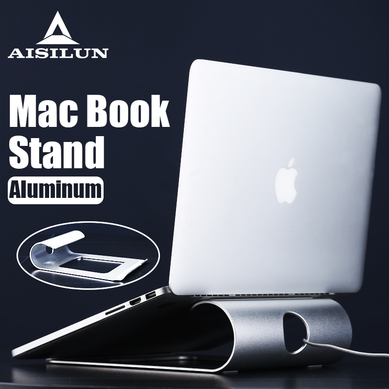 Aluminum Tablet Laptop Holder Stand For Macbook Air Pro Retina 11 12 13 15 Inch Notebook Laptop Cooling Mount For HP Dell