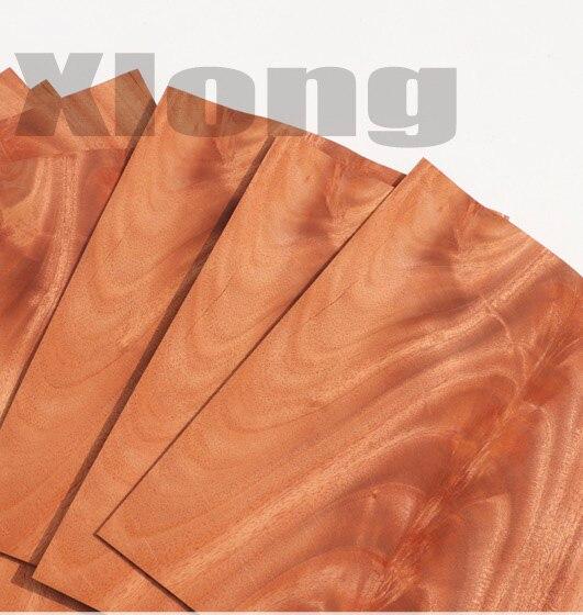 3Pieces/Lot 27x33cm Thickness:0.6mm Natural Precious Mahogany Tree Eucalyptus Wood Veneer Chip