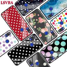 Black Glossy Cover Polka Dots for Xiaomi Redmi Note 8 7 6 5 4X 4 K20 Pro 7A 6A 6 S2 5A Plus Phone Case black glossy cover polka dots for xiaomi redmi note 8 7 6 5 4x 4 k20 pro 7a 6a 6 s2 5a plus phone case