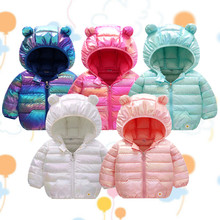 Jacket Baby-Girls Outerwear Infant Newborn-Baby Winter Autumn for Boys Coat Colorful