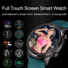 Timewolf Smart Horloge IP68 Waterdicht 5atm Bloeddruk Smartwatch Android 5.1 Hartslag Smart Horloge Voor Android Telefoon Ios