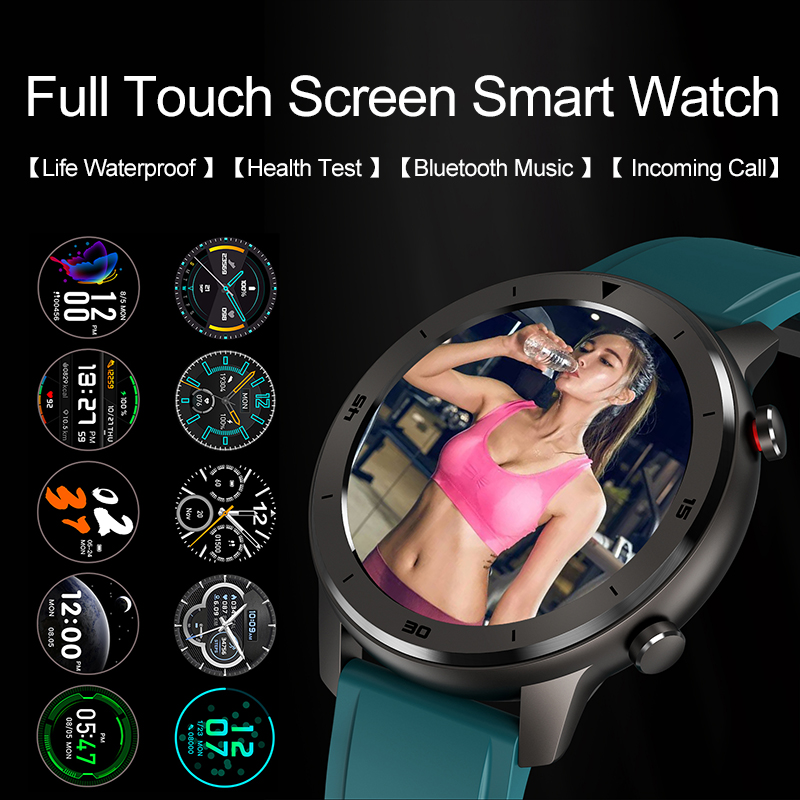 Timewolf Smart Watch IP68 Waterproof 5atm Blood Pressure Smartwatch Android 5.1 Heart Rate Smart Watch for Android Phone IOS