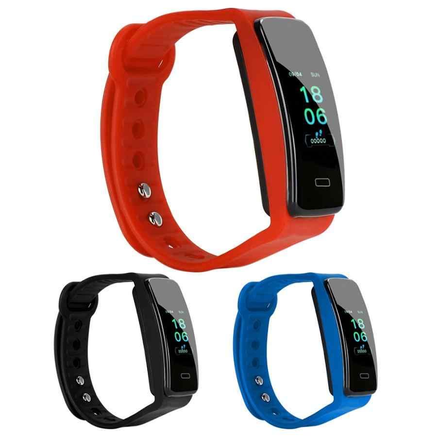Automatyczne cyfrowe tętna Monitor ciśnienia krwi IP67 wodoodporna inteligentny zegarek inteligentna bransoletka ciśnieniomierze zegarowe Pulsomete