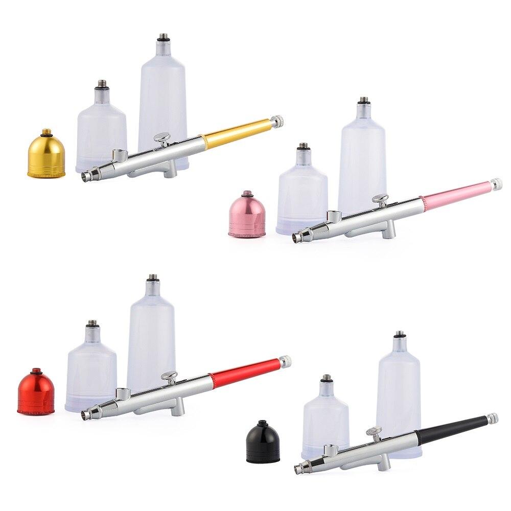20Cc 40Cc Airbrush Paint Gun Tool Top 0.4mm Dual Single Action Airbrush Cake Tattoo Nail Tool Airbrush Spray Gun Accessories