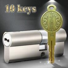 36 лезвие супер C дефиантный двойной цилиндр замок медный домашний замок безопасности сердечник безопасности двери винтажные двери универсальный замок сердечник