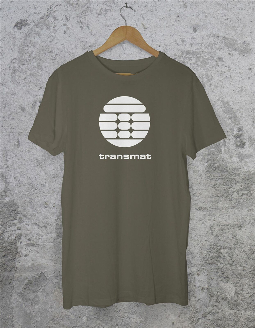 Transmat Records T Shirt - Detroit Techno Derrick May Edm House Music Printing Tee Shirt image