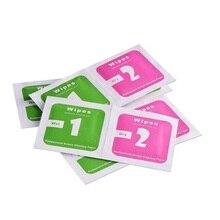1000set LCD Bildschirm Staub Entfernung Trocken Nass Reinigung Tücher Papier alkohol paket für iPhone 6/7/8 /X Handy