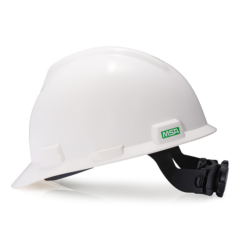 MSA V-A Type ABS Safety Helmet Anti-Fall Of Helmet Smashing Work Hat Architecture Work Site Engineering Use Hat