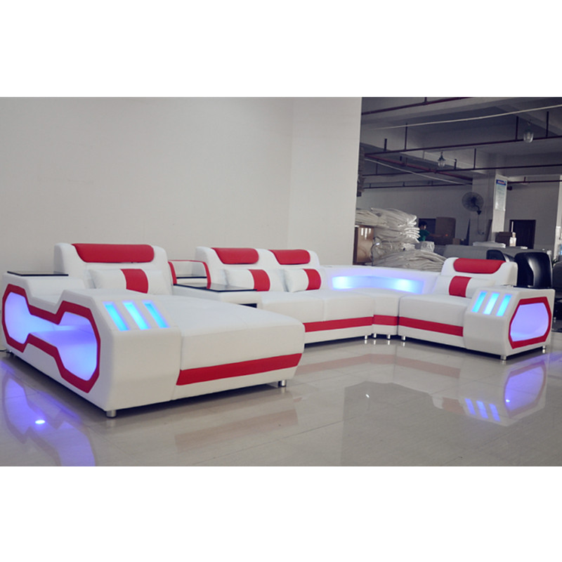 Home Theatre Living Room Sofa With Led