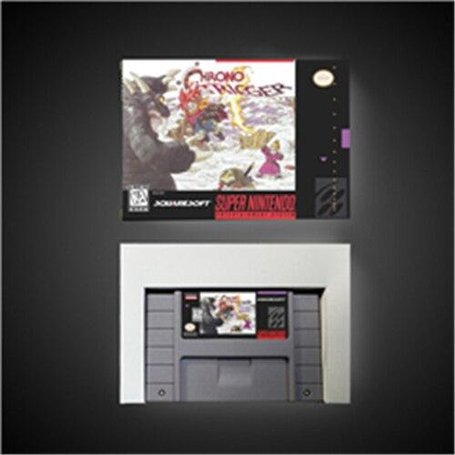 Chrono Trigger-карта для игры RPG батарея сохранить US версия Розничная коробка