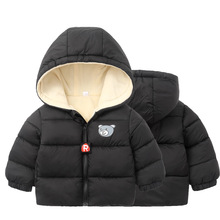 Kids Toddler Boys Jacket Coat Children Clothing Hooded Outerwear Baby Girls Clothes Autumn Winter Jackets For Boys Windbreaker autumn winter thin jacket girl coat children hooded outerwear windbreaker girls parka kids clothes casual long jackets for girls