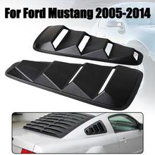 1 Pair Quarter Side Window Louvers Scoop Cover Vent For Ford Mustang 2005 2006 2007 2008 2009 2010 2011 2012 -2014 Car-Styling
