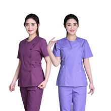 Hand washing clothes split suit pure cotton operating long sleeve brush hand clothing oral nurse doctor