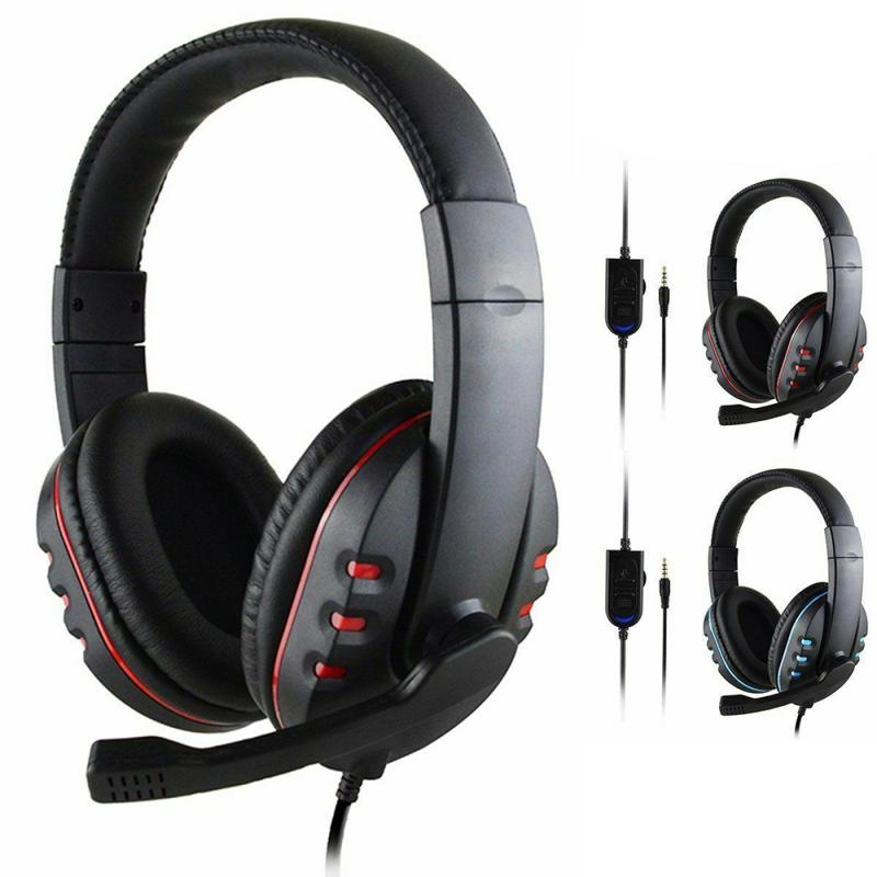 Gamer Bluetooth Headset With Mic For Ps4 Xbox One Switch Ps3 Pc Headphones Heavy Bass Headphones Hifi Gaming Headset Headphone Headset Aliexpress