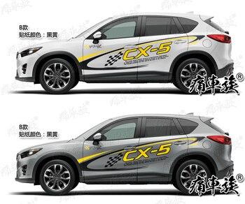 Autoadesivo Dell'automobile per Mazda CX-5 Decorazione Esterna Modificato Autoadesivo CX5 Auto Forniture Sticker Foil L'aspetto Del Corpo Pellicola