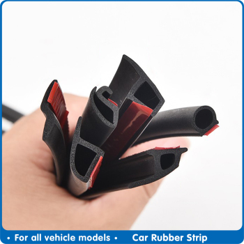 1Meter Window Edge Seal D Z P B Shape Cars Rubber Seal Automobile Sealing strip (More than 1meters merged into one length) image