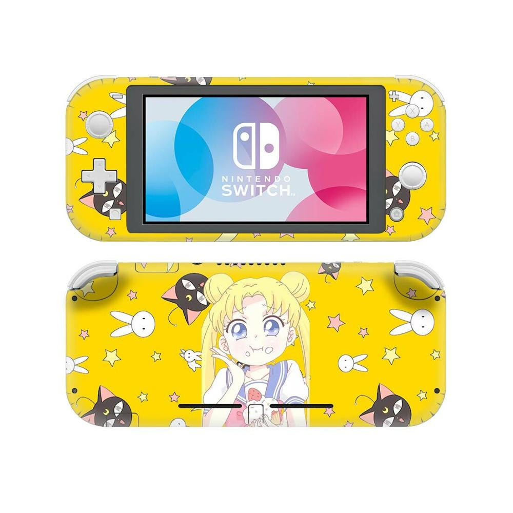 Anime Sailor Moon NintendoSwitch Skin Sticker Decal Cover For Nintendo Switch Lite Protector Nintend Switch Lite Skins Stickers