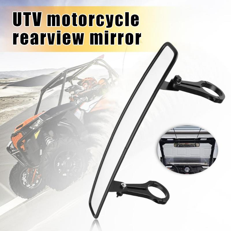 UTV Rear View Center Mirror with 1.75 inch Clamps for Polaris RZR XP 1000 Sport