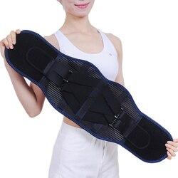 Orthopedic Lumbar Support Back Brace Compression Support Belt Posture Corrector Body Health Neoprene Waist Belt for Back Pain