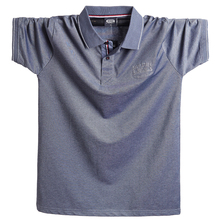 Рубашка поло мужская хлопковая, размеры до 5XL