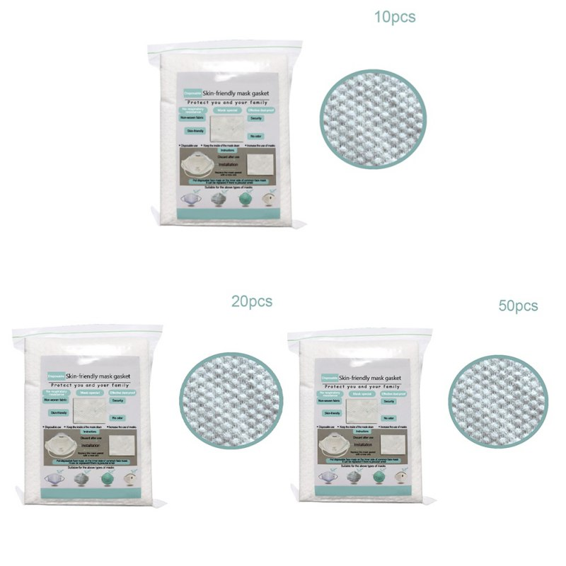 10/20/50pcs Air Mask Fiters Anti Dustproof Filter Disposable Mask Pad PM2.5 Masks Protective Breathable Replaceable Filter 8