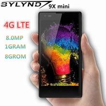 9X мини 4G LTE смартфоны 1G ram+ 8G rom четырехъядерный Android Мобильные телефоны 2MP+ 8MP фронтальная/задняя камера дешевые celulares разблокированы