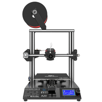 Geeetech A20 DIY 3d Printer High Accuracy Fast Assembly With GT2560 Board Aluminum Profile Frame Break Resuming Capability