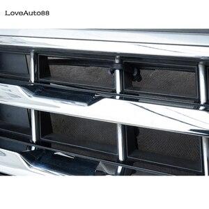 Image 4 - Para volkswagen vw tiguan mk2 2017 2018 2019 2020 carro inseto triagem malha grade dianteira inserção net acessórios