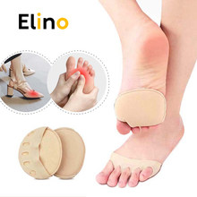 Forefoot Pads for Women High Heels Half Insoles Five Toes Insole Foot Care Calluses Corns Relief Feet Pain Massaging Toe Pad
