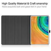 style protective For Huawei MatePad Pro 10.8 Inch Tablet Case Business Style Folding Stand Protector Case TPU+PU Leather Tablet Protective Cover (4)