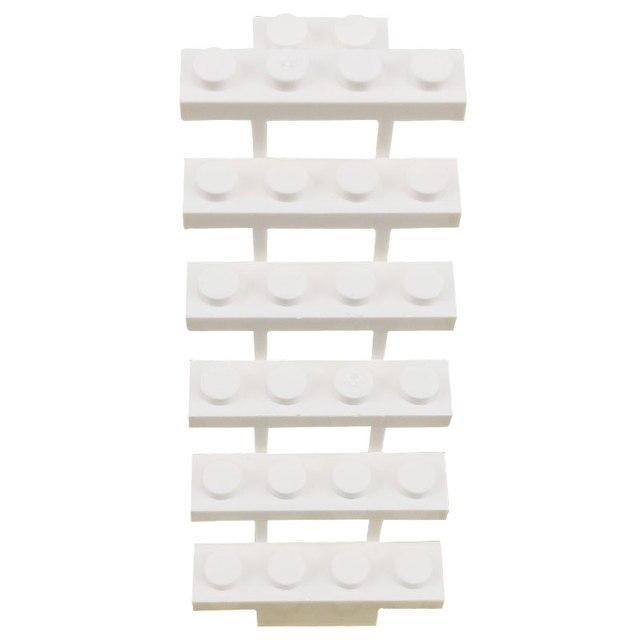 2 قطعة/المجموعة متوافق ل قفل MOC أجزاء الأبيض الدرج بناء كتل الطوب لعب للأطفال للأصدقاء [ستس] كتلة