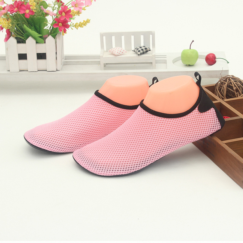Children Household Whole Network Light Sandals Anti slip Diving Snorkeling Swimming Shoes Red Foot Patch Skin Soft Shoes|Shoe Racks & Organizers| |  - title=