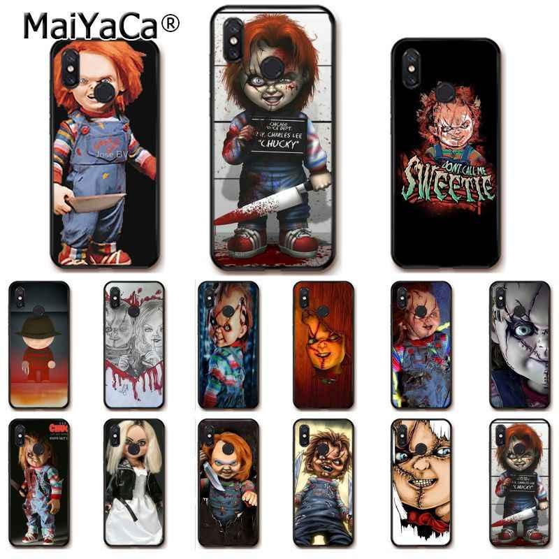 Maiyaca Charles Lee Ray Chucky Boneka Phone Case untuk Xiaomi Redmi8 4X 6A S2 5A Redmi 5Plus Note7 8Pro 7A 6A