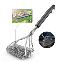 Cleaning-Brushes Handle Bbq-Brush Clean-Tool Wire-Bristles Cook-Accessorie Barbecue-Grill
