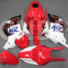 Bodywork Fairing Body Kit for HONDA NS-1 NS1 NSR50 Nsr50R Red White Black