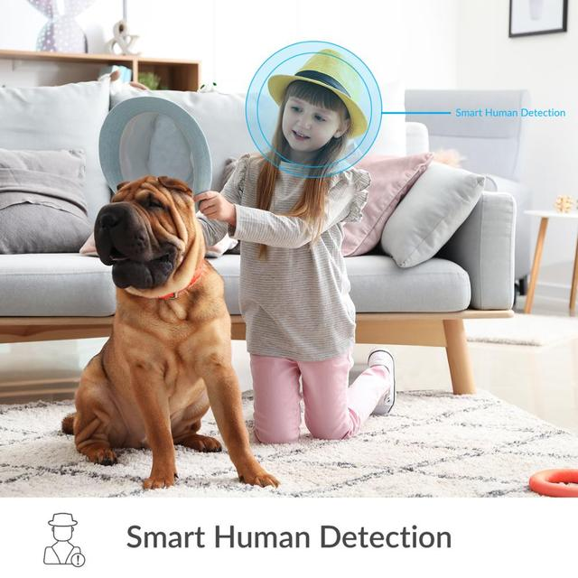 YI Home 1080p Camera AI+ Smart Human detection Night vision Activity alerts for home Video pets baby monitor Cloud and Micro SD 6