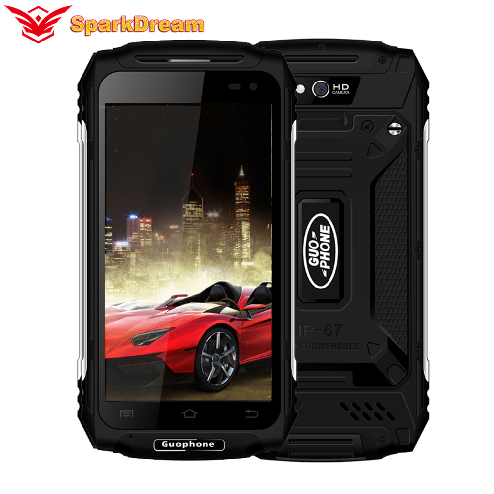 2018 New Original Guophone X2 5500MAH 5.0 Inch Android 6.0 GPS MTK6737 Quad Core 2GB RAM 16GB ROM 8MP 3G WCDMA LTE Land Rover X2