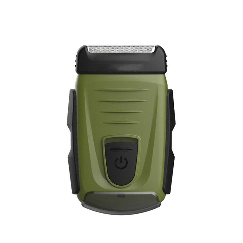 Lavage du corps hommes rasoir Rechargeable rasoir Machine à raser tondeuse à barbe rasoir USB charge voyage voyage Portable