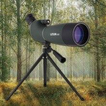 Telescopio Monocular de 25-75x70mm con Zoom continuo, Prisma BAK4, lente MC, resistente al agua, con trípode para caza y avistamiento de aves