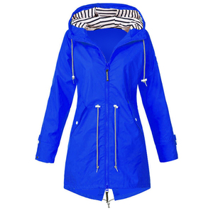 New 2020 Women Raincoat Transi