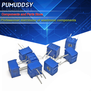 10PCS 3362P-1-504LF 3362P 500K ohm 3362P-1-504 3362P-504 3362 P504 504 Trimpot Trimmer Potentiometer Variable resistor